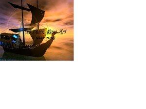 Ghost Ship 4x6