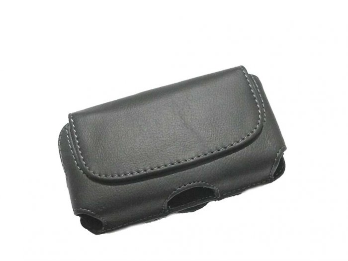 Horizontal Leather Case Cover for HTC Hero CDMA & Screen Protector