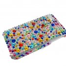 Bling Rhinestones Crystal Rainbow Hard Case Cover for Apple iPhone 4 4G 4S