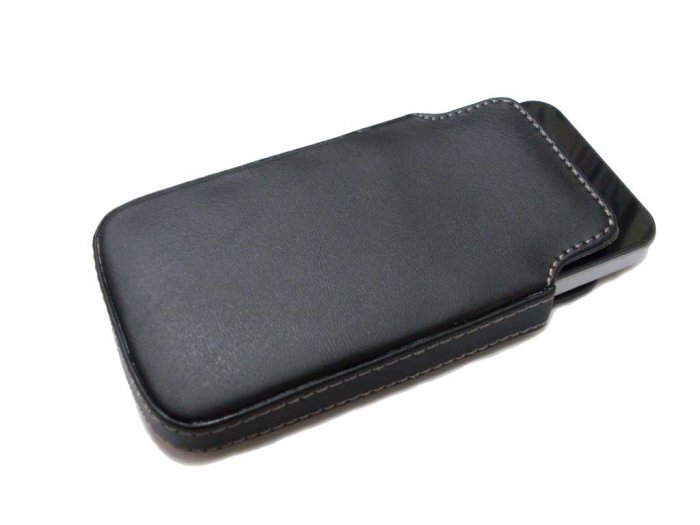 Genuine Sheep Leather Case Cover Pouch for Apple iPhone 3G 3GS 16GB / 32GB + Screen Protector
