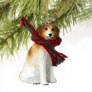 Borzoi Christmas Ornament