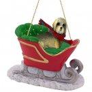 Dandie Dinmont Sleigh Ride Ornament