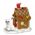 West Highland Terrier Ginger Bread House