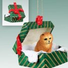 Chow, Red Green Gift Box Ornament