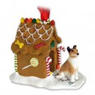 Collie, Smooth Hair Ginger Bread House
