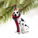 Great Dane, Harlequin Christmas Ornament