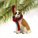 Saint Bernard, Rough Coat Christmas Ornament