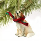 English Setter, Orange Belton Christmas Ornament