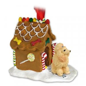 Poodle, Apricot Ginger Bread House
