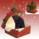 Panther Red Gift Box Ornament