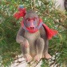 Mandrill Christmas Ornament