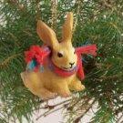 Rabbit, Brown Christmas Ornament