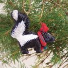 Skunk Christmas Ornament