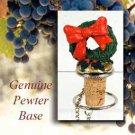Wreath Bottle Stopper