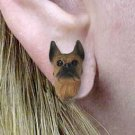 Boxer Tawny Earrings Post