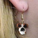 Boxer Natural Ears Earring Hanging