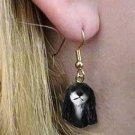 Saluki Earring Hanging