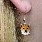 Shiba Earrings Hanging