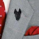 Great Dane Black Pin