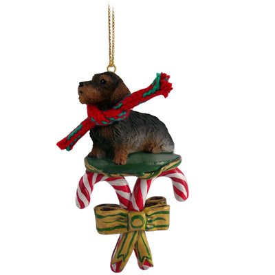 christmas ornaments to make dcc124 wire haired dachshund ornament 31671