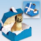 BGBD126 Briard Blue Gift Box Ornament