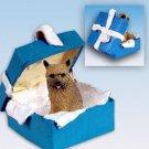 BGBD79 Norwich Terrier Blue Gift Box Ornament