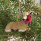 ATX19 Deer, Doe Christmas Ornament
