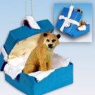 BGBA09 Lioness Blue Gift Box Ornament