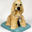 DFL15C Cocker Spaniel Blonde My Dog Figurine