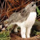 AFF61A Wolf Timber Figurine