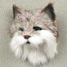 AFM39 Bobcat Fur Magnet