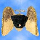 DHAM18B Pug, Black Angel Magnet