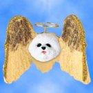 DHAM29 Bichon Frise Angel Magnet