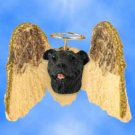 DHAM48 Staffordshire Bull Terrier, Brindle  Angel Magnet