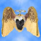 DHAM81 Chinese Crested Dog Angel Magnet