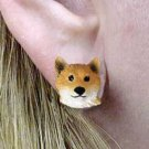 DHE96 Shiba Earrings Post