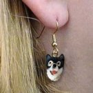 DHEH108 Alaskan Malamute Earrings Hanging