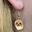 DHEH10B Lhasa Apso Earrings Hanging