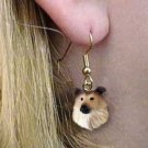 DHEH23A Collie Sable Earrings Hanging