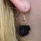 DHEH40B Shar Pei Black Earring Hanging