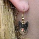 DHEH52 Norwegian Elkhound Earring Hanging