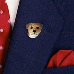 DHP94 Border Terrier Pin