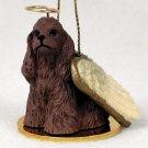 DTA15A Cocker Spaniel, Brown Angel