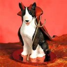 DTD07B Bull Terrier, Brindle Devil
