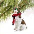 DTX22A Springer Spaniel, Liver & White Christmas Ornament