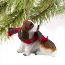 DTX37 Basset Hound Christmas Ornament