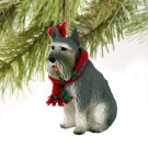 DTX58A Schnauzer, Giant, Gray Christmas Ornament