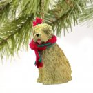 DTX98 Soft Coated Wheaten  Christmas Ornament