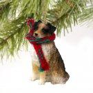 DTX99A Australian Shepherd Brown Christmas Ornament
