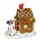 GBHD106A Pointer, Brown & White Ginger Bread House